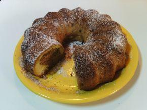 Снимка 1 от рецепта за Кекс с какао, канела и пудра захар