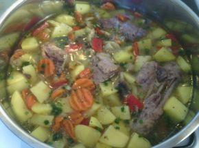 Снимка 1 от рецепта за Патешко със зеленчуци