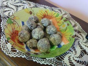 Снимка 1 от рецепта за Напукани сладки с нес кафе