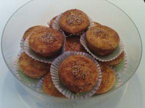 Снимка 1 от рецепта за Мъфини с бяло и царевично брашно