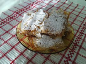 Снимка 1 от рецепта за Щрудел с ябълки и банан
