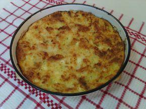 Снимка 1 от рецепта за Баница от хапки хляб