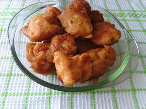 Снимка 1 от рецепта за Хапки от бяло месо в бирена панировка