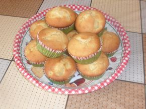 Снимка 1 от рецепта за Мъфини с банан и ябълка