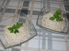Снимка 1 от рецепта за Разядка с извара и магданоз