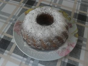 Снимка 1 от рецепта за Ябълков кекс с кайсиеви ядки