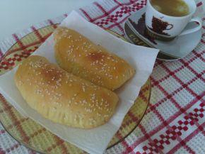 Снимка 1 от рецепта за Затворени питки със сирене на фурна