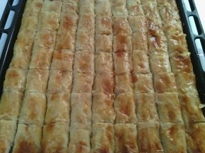 Снимка 1 от рецепта за Сиропирана баница с локум