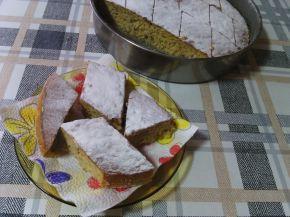 Снимка 1 от рецепта за Сладкиш със стъргани дюли и орехи