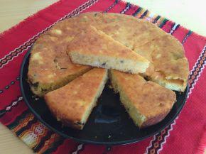 Снимка 1 от рецепта за Царевичен кейк с маслини