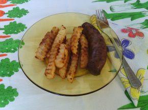 Снимка 1 от рецепта за Наденица с къдрави пържени картофи - за ничинаещи