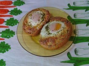 Снимка 1 от рецепта за Сандвичи на очи