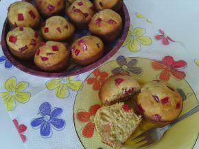 Снимка 1 от рецепта за Мъфини с локум от нар, орехи и тръстикова захар