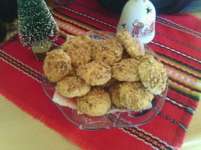 Снимка 1 от рецепта за Маслени сладки с ванилия и смлени ядки