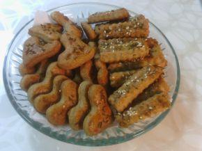 Снимка 1 от рецепта за Соленки с пълнозърнесто брашно