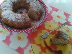 Снимка 1 от рецепта за Кекс със сладко от малини