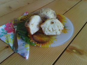 Снимка 1 от рецепта за Мъфини с рикота, банани и натрошени бадеми