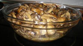 Снимка 1 от рецепта за Гъби с масло на фурна