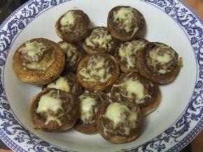 Снимка 1 от рецепта за Пълнени гъби с кайма