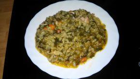 Снимка 1 от рецепта за Пилешко със спанак