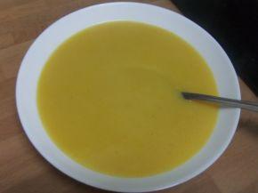 Снимка 1 от рецепта за Крем супа от тиквички, картофи, моркови и тиква