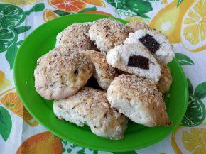 Снимка 1 от рецепта за Курабийки с орехи и мармалад