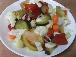 Снимка 1 от рецепта за Обикновена туршия - II вариант