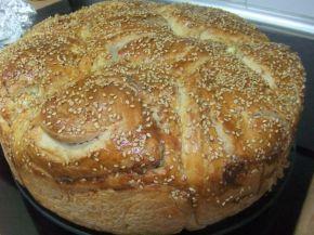 Снимка 1 от рецепта за Питка пухкавелка