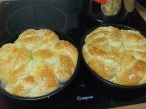 Снимка 1 от рецепта за Две питки - душички