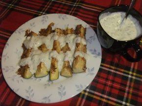 Снимка 1 от рецепта за Тиквички с кашкавал на фурна