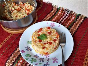 Снимка 1 от рецепта за Кус кус със зеленчуци и кашкавал