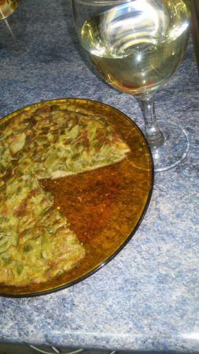 Снимка 1 от рецепта за Тортия с аспержи