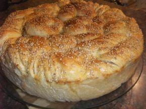 Снимка 1 от рецепта за Погача със сусам