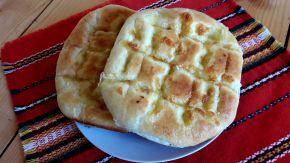 Снимка 1 от рецепта за Хляб с моцарела