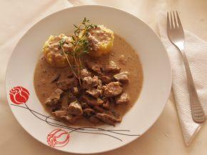 Снимка 3 от рецепта за Бьоф Строганов