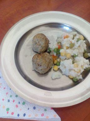 Снимка 8 от рецепта за Пържен ориз със зеленчуци