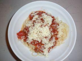 Снимка 4 от рецепта за Спагети ала `Болонезе`