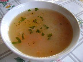 Снимка 2 от рецепта за Агнешка супа с девисил