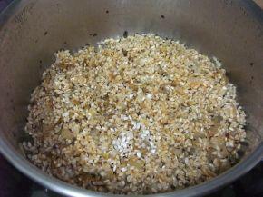 Снимка 2 от рецепта за Агнешки език с ориз