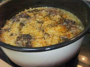 Снимка 4 от рецепта за Агнешки език с ориз