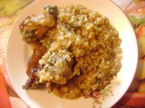 Снимка 2 от рецепта за Агнешко с ориз и зелен лук