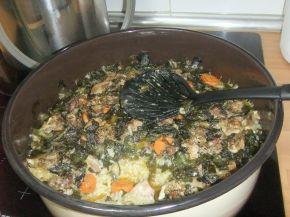 Снимка 2 от рецепта за Агнешко със спанак