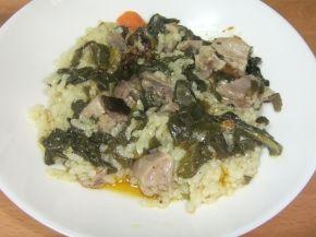 Снимка 3 от рецепта за Агнешко със спанак