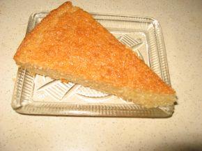 Снимка 4 от рецепта за Арабско реване с грис и малинов сироп