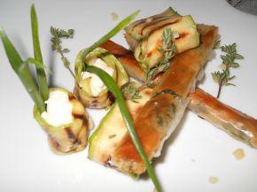 Снимка 2 от рецепта за Ароматни пръчици с масло, бяло вино и пресни  билки