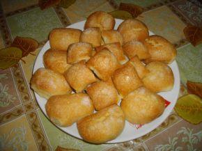 Снимка 4 от рецепта за Бабините курабии и ментов айрян