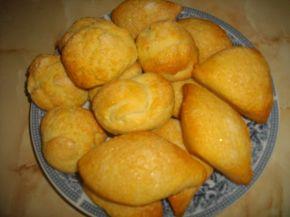 Снимка 5 от рецепта за Бабините курабии и ментов айрян