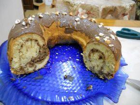 Снимка 3 от рецепта за Бананов кекс с какао
