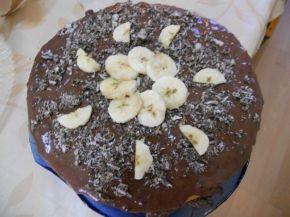 Снимка 2 от рецепта за Бананова торта с вафли