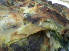 Снимка 6 от рецепта за Банички на сач със спанак